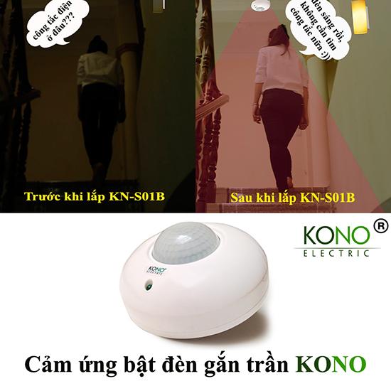 Ứng dụng bật đèn tự động KN-S01B