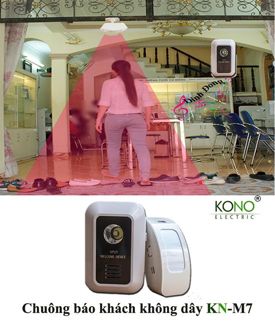 Ứng dụng chuông báo khách thông minh KN-M7