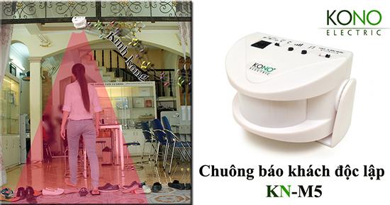 Ứng dụng chuông báo khách KN-M5