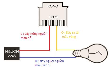 sơ đồ nối dây KN-CT03
