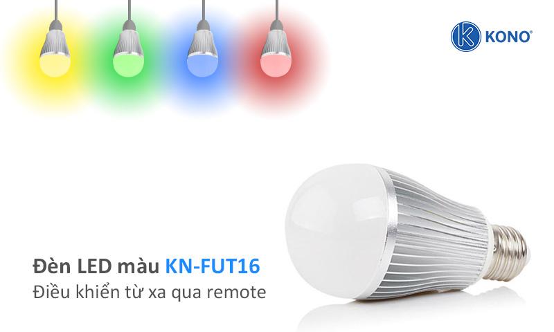 Đèn led màu điều khiển từ xa KONO KN-FUT16