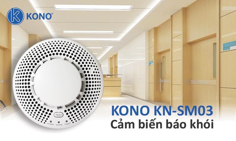 Cảm biến báo khói không dây KONO KN-SM03